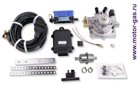 Впрыск газа 4 цил. OMVL SAVER (CPR 140 KW + клапан газа) одноступ.